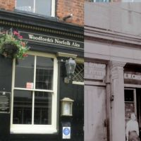 The Pub in 1915 and 2012